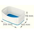 Aufbewahrungsschale MyBox 246x98x160mm weiß/blau Leitz 5257-10-36 Produktbild Additional View 7 S