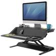 Workstation Sitz/Steh Desktop Lotus schwarz Fellowes 0007901 Produktbild