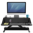 Workstation Sitz/Steh Desktop Lotus schwarz Fellowes 0007901 Produktbild Additional View 3 S