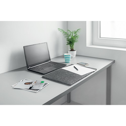 Schreibunterlage casualstyle 50x33x0,7cm anthrazit/grau Filz Sigel SA301 Produktbild Additional View 4 L