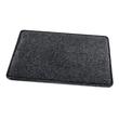 Mousepad casualstyle 250x200x7mm anthrazit/grau Filz Sigel SA300 Produktbild