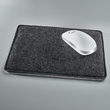 Mousepad casualstyle 250x200x7mm anthrazit/grau Filz Sigel SA300 Produktbild Additional View 4 S