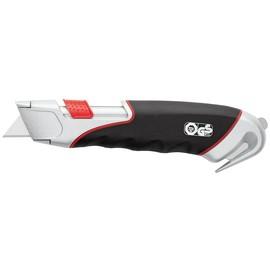 Schneidemesser Safety Cutter Super 19mm schwarz incl. 1 Trapez-Ersatzklinge und 1 Rundmesser Wedo 78855 Produktbild