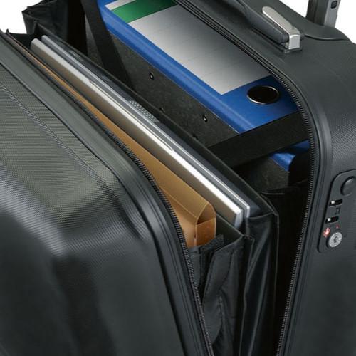 Businesstrolley 38x41x24cm schwarz matt ABS Jüscha 45554 Produktbild Additional View 1 L