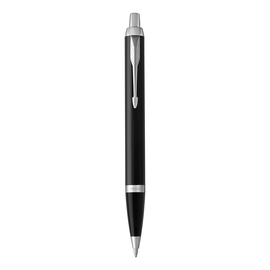Kugelschreiber IM Black Lacquer C.C. mit verchromtem Clip Parker 1931665 Produktbild