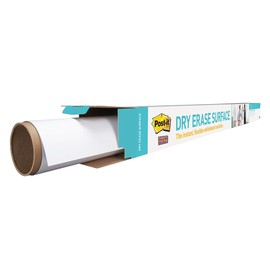 Folienrolle Post-it Super Sticky Dry Erase 91,4x121,9cm weiß 3M DEF4x3-EU Produktbild