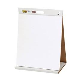 Haftfolie Post-it Meeting Charts mit Aufsteller 50,8x58,4cm blanko weiß 3M 563R (PACK=20 BLATT) Produktbild