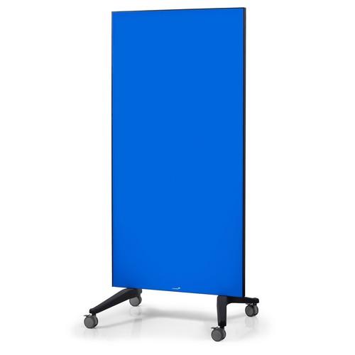 Glas-Magnetboard Mobil 175x95x4cm blau Legamaster 7-105300 Produktbild