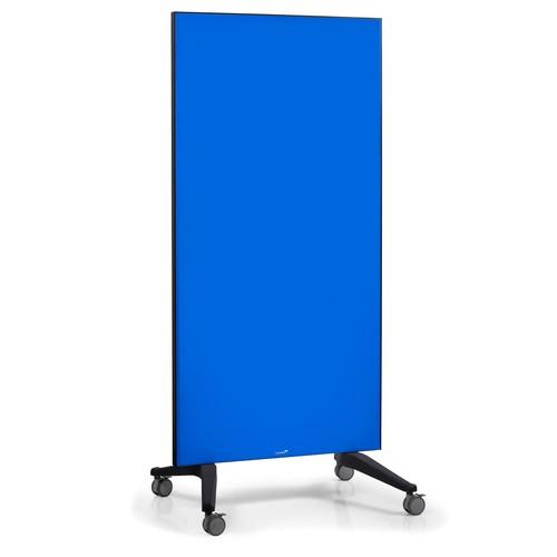 Glas-Magnetboard Mobil 175x95x4cm blau Legamaster 7-105300 Produktbild Additional View 4 L