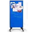Glas-Magnetboard Mobil 175x95x4cm blau Legamaster 7-105300 Produktbild Additional View 5 S
