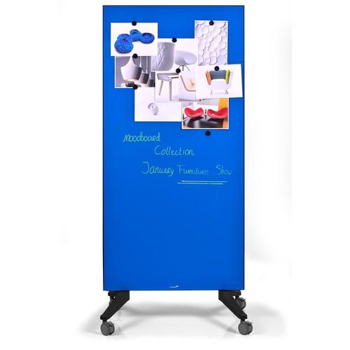 Glas-Magnetboard Mobil 175x95x4cm blau Legamaster 7-105300 Produktbild Additional View 5 L