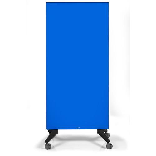 Glas-Magnetboard Mobil 175x95x4cm blau Legamaster 7-105300 Produktbild Additional View 6 L