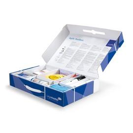 Toolbox Agile für Scrum-Meetings Tafelwischer + Spray + Stifte + Magnete + Moderationskarten Legamaster 7-125400 Produktbild