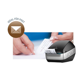 Etikettendrucker LabelWriter Wireless schwarz LW-Etiketten Dymo 2000931 Produktbild