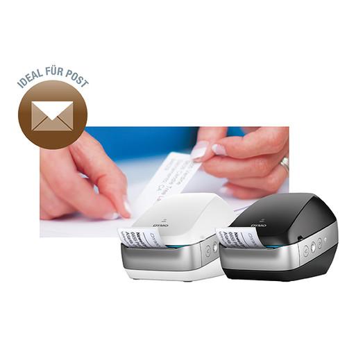 Etikettendrucker LabelWriter Wireless schwarz LW-Etiketten Dymo 2000931 Produktbild Additional View 1 L