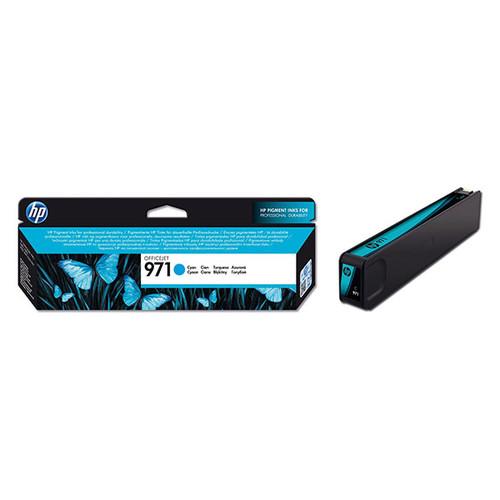 Tintenpatrone 971 für HP OfficeJet Pro X450/X470 2500Seiten cyan HP CN622AE Produktbild Front View L