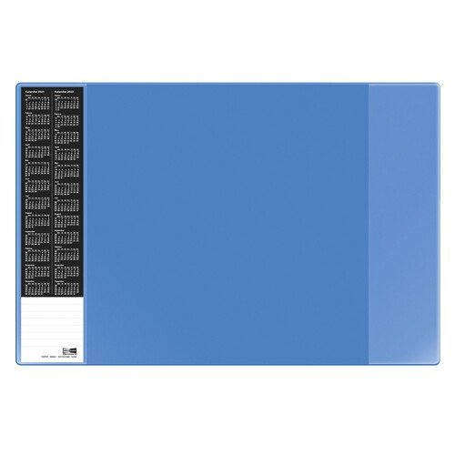Schreibunterlage VELOCOLOR 40x60cm blau Veloflex 4680351 Produktbild