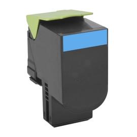 Toner für CX310/410/510 2000Seiten cyan Lexmark 80C2SC0 Produktbild