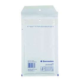 Versandtasche mit Luftpolster TYP B/00 weiß IM 110x215mm Soennecken 2281 (PACK=5 STÜCK) Produktbild
