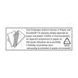 Versandtasche mit Luftpolster TYP B/00 weiß IM 110x215mm Soennecken 2281 (PACK=5 STÜCK) Produktbild Additional View 1 S