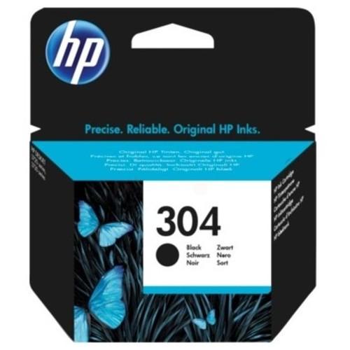 Tintenpatrone 304 für HP DeskJet 3720/3732 4ml schwarz HP N9K06AE Produktbild Front View L