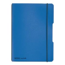 Notizheft flex A5 kariert blau 40 Blatt PP Herlitz 11361532 Produktbild