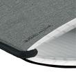 Notizheft flex A4 kariert schwarz 40 Blatt Leinen Herlitz 11361730 Produktbild Additional View 1 S