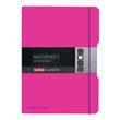 Notizheft flex A4 liniert+kariert pink 2x40 Blatt PP Herlitz 11361474 Produktbild Additional View 2 S