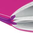 Notizheft flex A4 liniert+kariert pink 2x40 Blatt PP Herlitz 11361474 Produktbild Additional View 1 S
