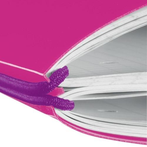 Notizheft flex A4 liniert+kariert pink 2x40 Blatt PP Herlitz 11361474 Produktbild Additional View 1 L