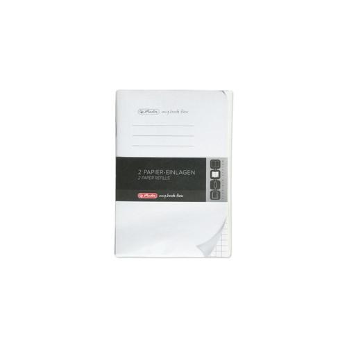 Refill flex A6 kariert my.book 2x40 Blatt Herlitz 11361912 Produktbild