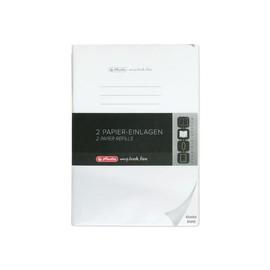 Refill flex A4 blanko my.book 2x40 Blatt Herlitz 11416062 Produktbild