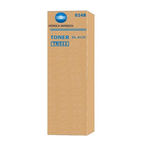 Toner TN-511 für Bizhub 360/420/500 32000Seiten schwarz Konica/Minolta 024B Produktbild Front View L
