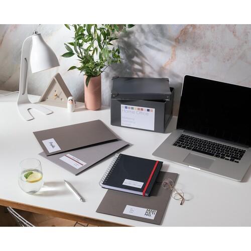 Etiketten Inkjet+Laser+Kopier 64,6x33,8mm auf A4 Bögen weiß Zweckform 3658-10 (PACK=240 STÜCK) Produktbild Additional View 6 L