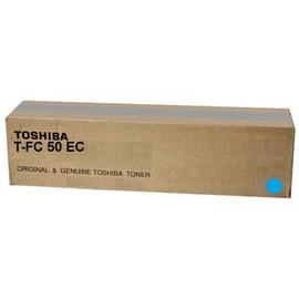 Toner T-FC50EC für E-Studio 2555/3055 33600Seiten cyan Toshiba 6AJ00000227 Produktbild