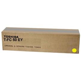 Toner T-FC50EY für E-Studio 2555/3055 33600Seiten yellow Toshiba 6AJ00000225 Produktbild