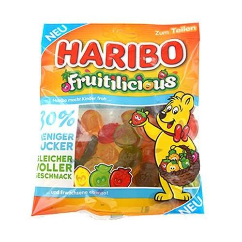 Dankeschön Fruchtgummi Fruitilicious Haribo Produktbild Front View L