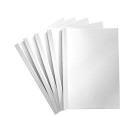 Thermo-Bindemappen A4 3mm weiß +transparent Reinauer PV 4 151 03 (PACK=100 STÜCK) Produktbild