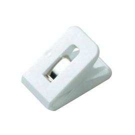 Multi-Clips SIGNAL 1 25x43mm weiß Kunststoff Laurel 1119-10 (PACK=2 STÜCK) Produktbild