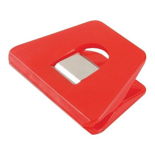 Multi-Clips SIGNAL 2 70x50mm rot Kunststoff Laurel 1129-20 Produktbild Front View L