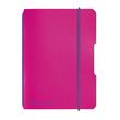 Notizheft flex A6 kariert pink 40 Blatt PP Herlitz 50016402 Produktbild