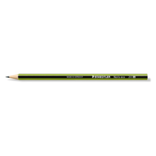 Bleistift Noris eco 2H sechskant Staedtler 180 30-2H Produktbild