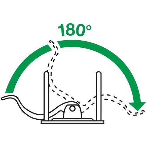 Ordner 180° Solid A4 82mm hellgrün Kunststoff Leitz 1112-00-50 Produktbild Additional View 5 L