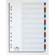 Register Blanko A4 220x297mm 20-teilig mehrfarbig PP Durable 6758-27 Produktbild