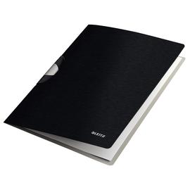 Klemmmappe Style ColorClip Professional A4 bis 40Blatt satin schwarz PP Leitz 4165-00-94 Produktbild