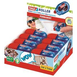 Kleberoller ecoLogo Mini 5mm x 6m permanent Tesa 59819-00000-00 (ST=6 METER) Produktbild