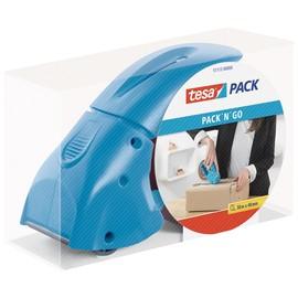 Handabroller pack´n´go incl. 1Rolle Tesapack blau Tesa 51112-00000-00 Produktbild