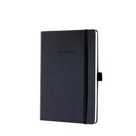 Notizbuch CONCEPTUM Softwave punktkariert A5 148x213mm 194Seiten schwarz Hardcover Sigel CO109 Produktbild