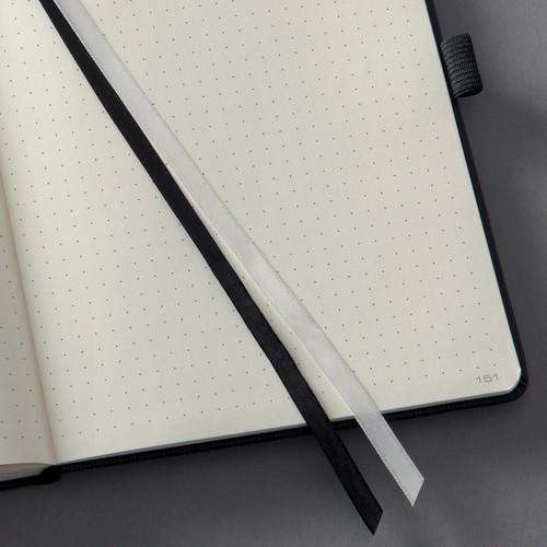 Notizbuch CONCEPTUM Softwave punktkariert A4 213x295mm 194Seiten schwarz Hardcover Sigel CO108 Produktbild Additional View 1 L