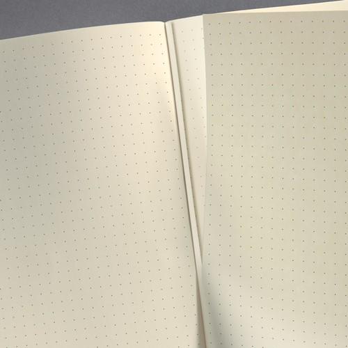 Notizbuch CONCEPTUM Softwave punktkariert A4 213x295mm 194Seiten schwarz Hardcover Sigel CO108 Produktbild Additional View 4 L